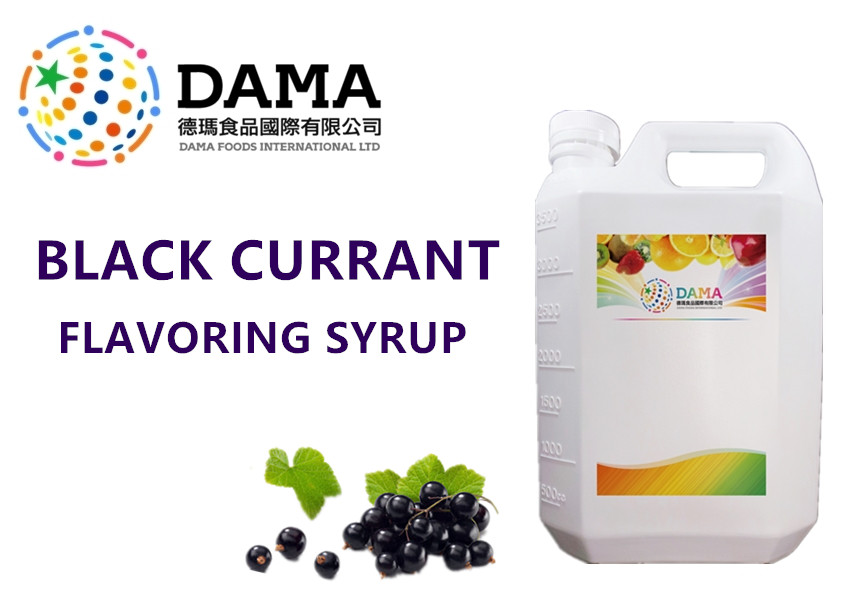 Blackcurrant Flavoring Syrup