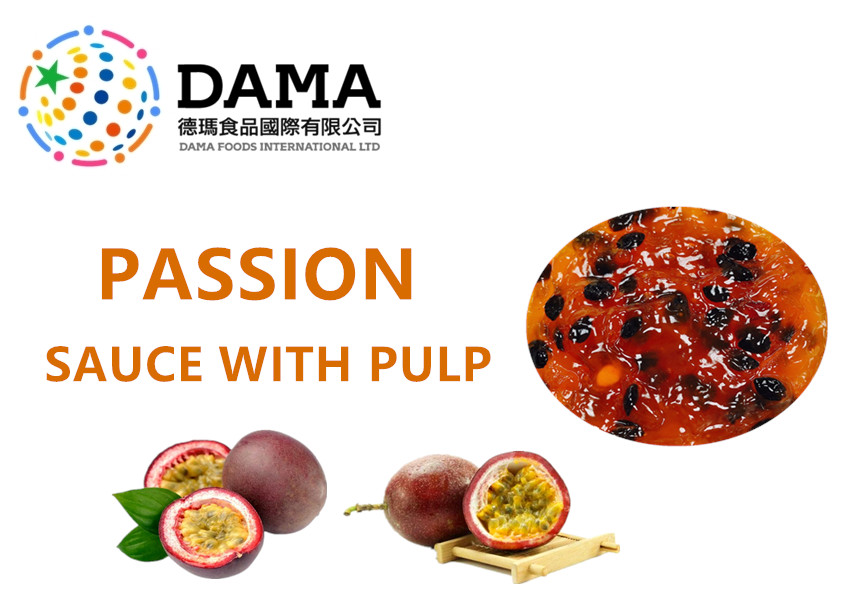 Passion Sauce With Pulp